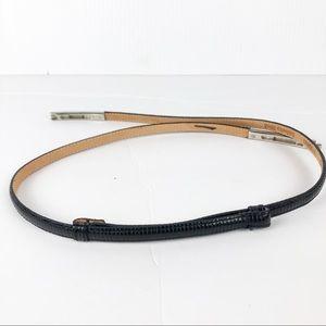 Anthropologie Accessories - Anthropologie Isabella Bird Skinny Leather Belt